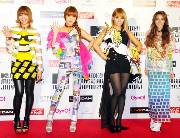 "2NE1 and Big Bang Listed on Top 10 MTV's ""Best Band Style of 2012"""