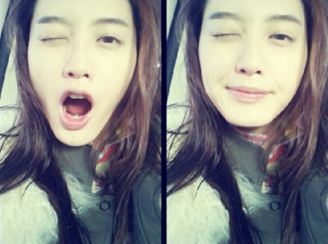Rainbow's Kim Jae Kyung Wishes Everyone a Merry Christmas
