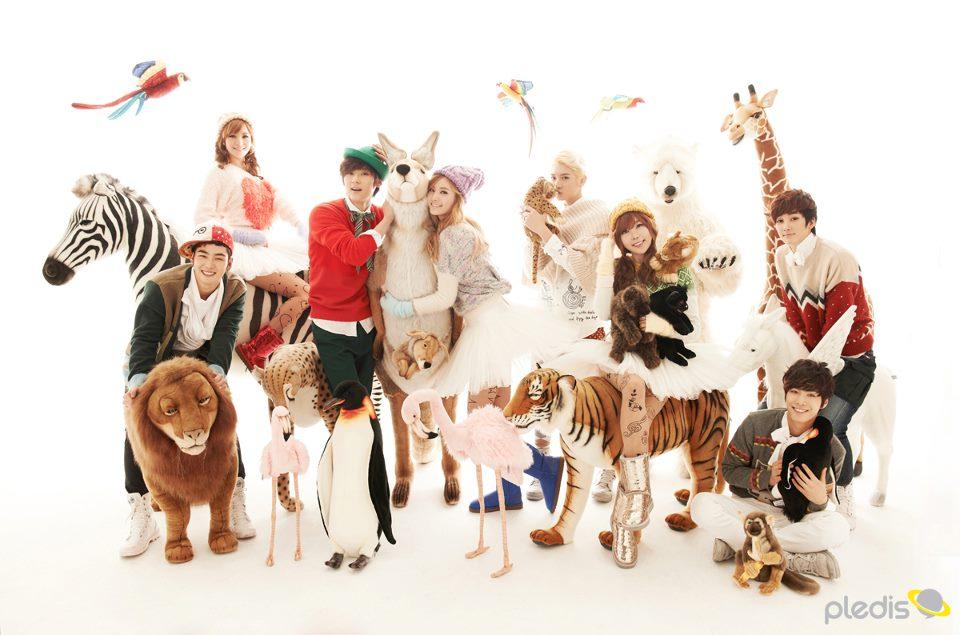 "Orange Caramel Releases MV for ""Dashing Through the Snow on High Heels"" Feat. NU'EST"