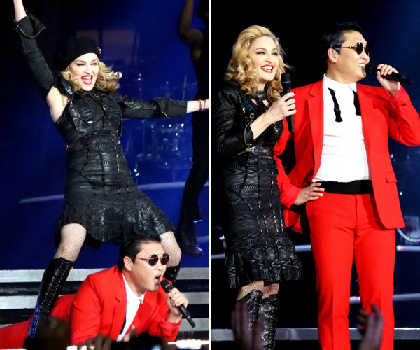 PSY Picks Performance with Madonna as His Favorite