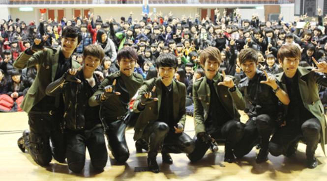 A-Jax Travels 1,000km for Fan Meeting Tour in Korea