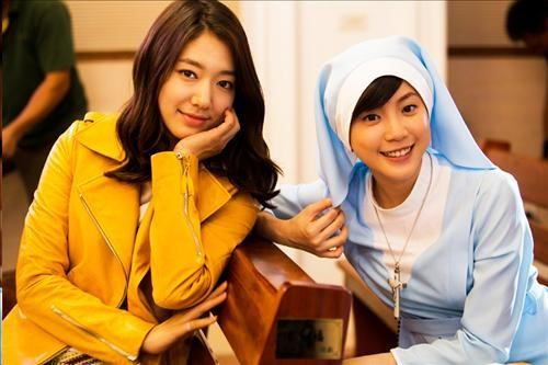 """Park Shin Hye Appears As Cameo On Taiwanese Version Of """"You're Beautiful"""""""
