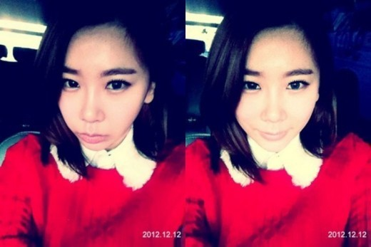 BEG's Jea Shows Off Her Thick Dark Eyebrows