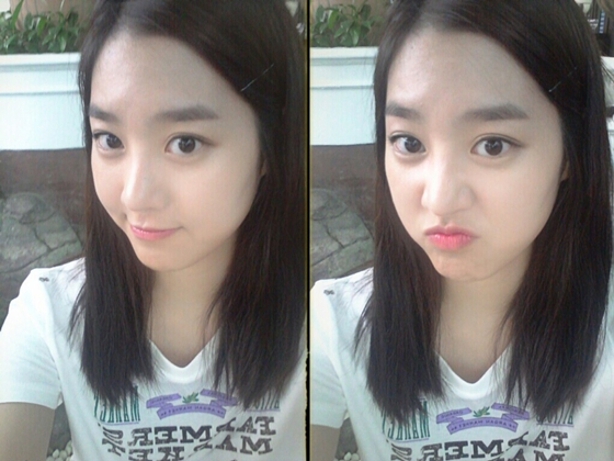 Actress Jin Se Yeon Flaunts Her Flawless Skin in Recent Selca