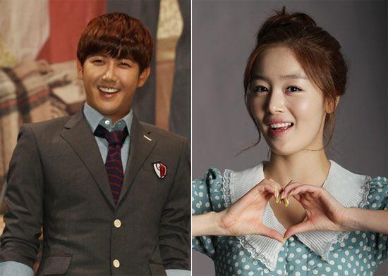 "ZE:A's Kwang Hee And SECRET's Sunhwa Show Light Skinship on ""Star King"""