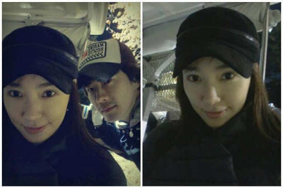 Kwon Sang Woo and Son Tae Young's Cozy Couple Selca