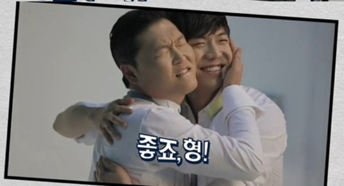 Top CF Models Lee Seung Gi and PSY Appear Together in Samsung CF
