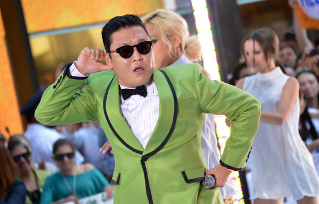 Snowman Of PSY Dancing To Gangnam Style Found In China