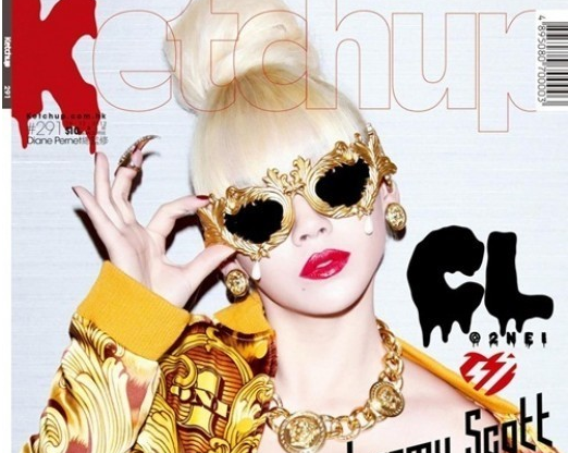 """2NE1's CL Graces the Cover of Hong Kong Magazine """"Ketchup"""""""