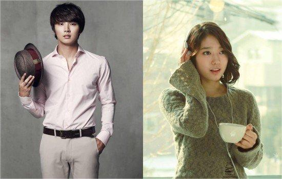 Yoon Shi Yoon and Park Shin Hye Share A Sweet Kiss