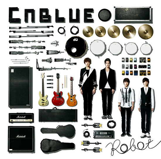 "CNBlue's New Japanese Single ""Robot"" Takes Second Place on Oricon Weekly Chart"