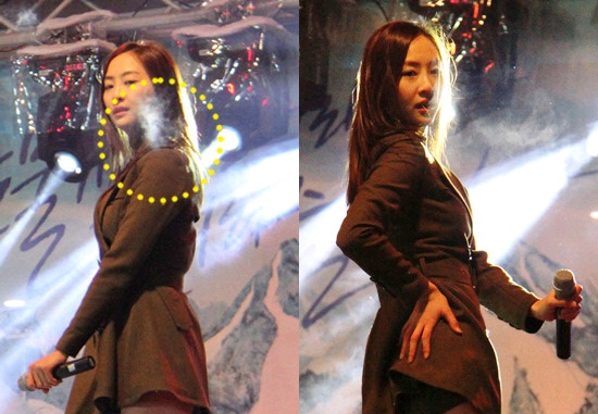 Pictures of Sistar Performing in the Cold Surfaces