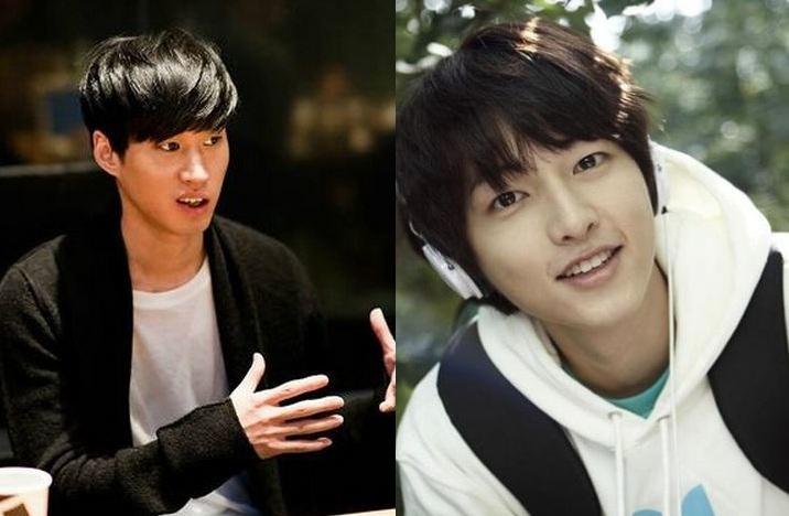 Epik High's Tablo And Song Joong Ki Pose For MAMA Selca