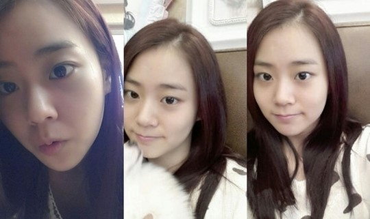 Close-up Selca of Han Seung Yeon's Bare Face Revealed