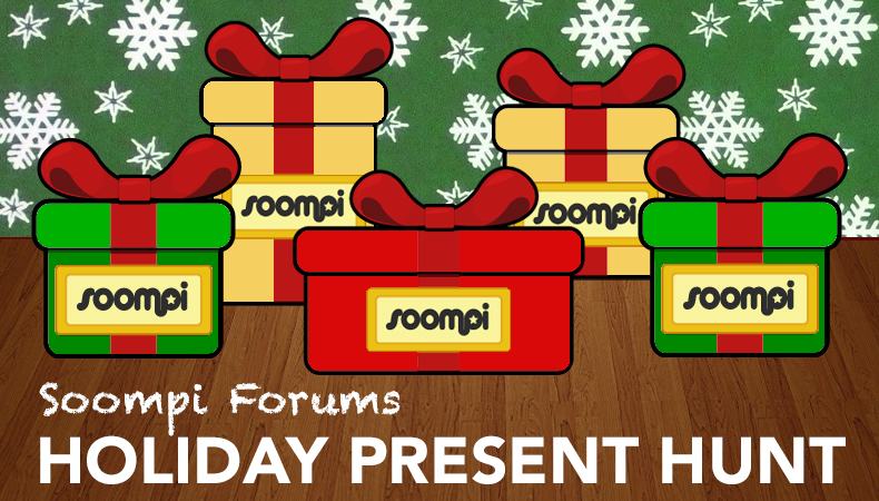 [Soompi] Announcing Holiday Present Hunt on Soompi Forums!