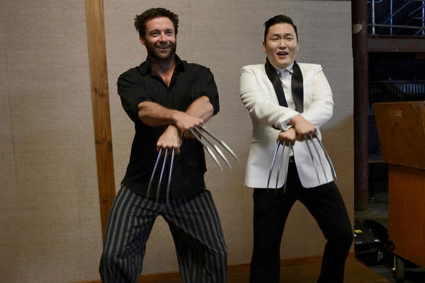 Hugh Jackman Thinks Well of PSY