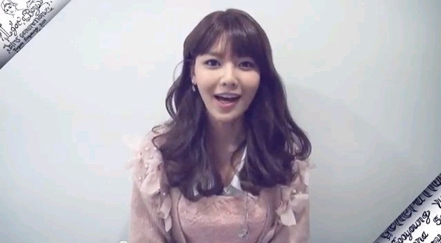 """Girl's Generation's Sooyoung Gives Her D-2 Video Message for """"I Got a Boy"""""""
