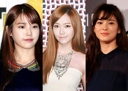 """Jessica, IU, and Song Hye Gyo Among Others in """"100 World's Most Beautiful Faces"""""""