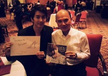 Kim Hyung Joon Meets World Famous Designer Jimmy Choo