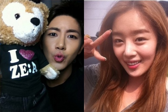 WGM's Kwanghee And Han Sun Hwa Take Adorable Selca Together