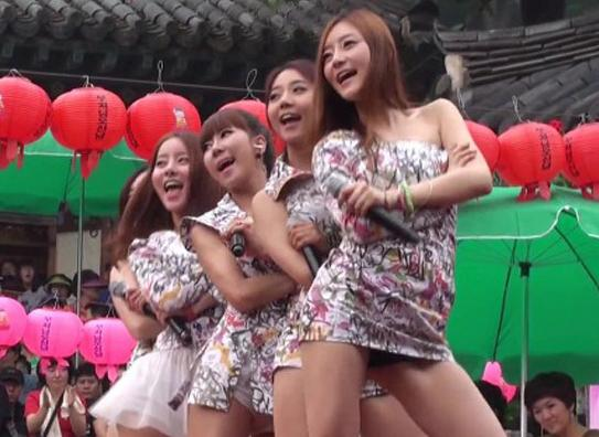 Rookie Girl Group's Outfits Too Revealing For Festival Event?