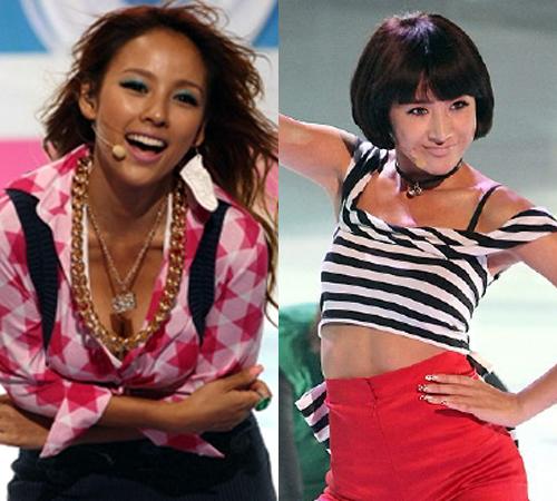 Lee Hyori vs Seo In Young for Best Marilyn Monroe Look