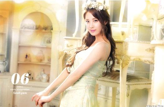 Girls' Generation's Seohyun Looks Lovely for 2013 Calendar Photos