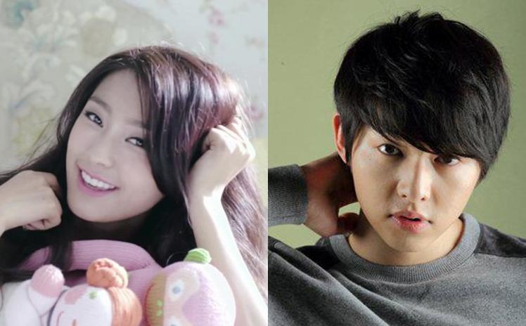 SISTAR's Bora Wants to Kiss Song Joong Ki?