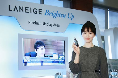 Song Hye Gyo Promotes Global Opening of Laniege