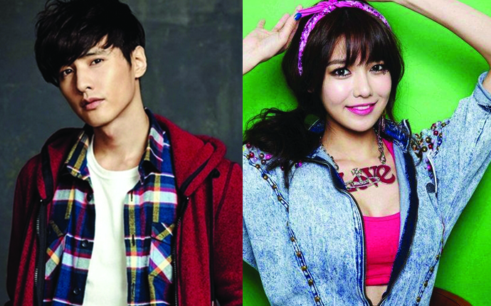 Won Bin and Sooyoung Involved in a Dating Rumor?