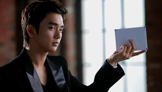 Yoo Seung Ho Looks Dapper in Black in BTS CF Photos