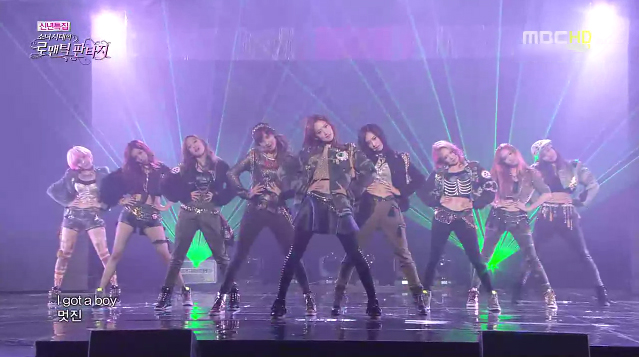 "Girls' Generation Makes Their First Comeback Performances on ""Romantic Fantasy"""