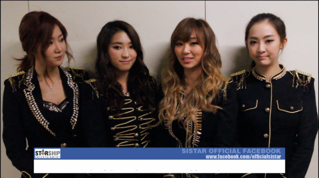 SISTAR, K.Will and Boyfriend Give Their New Year's Greetings
