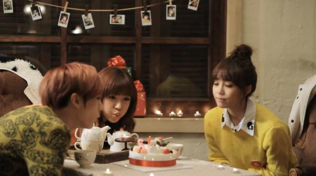"""BEAST's Hyun Seung, A Pink's Eunji and Namjoo Reveal MV for """"A Year Ago"""""""