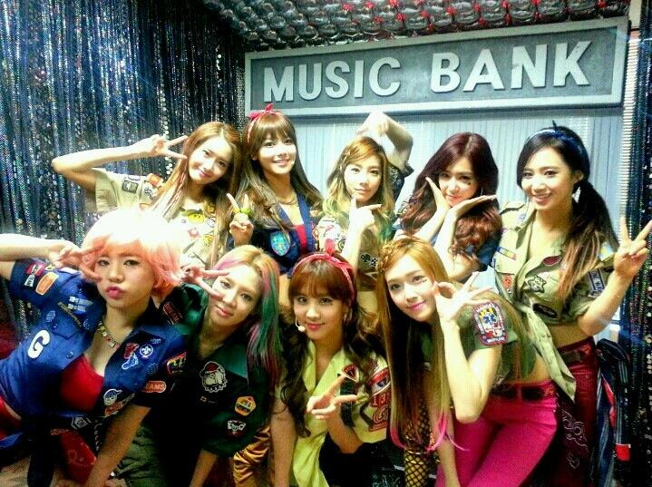 Girls' Generation Makes Their Music Bank Comeback Performance