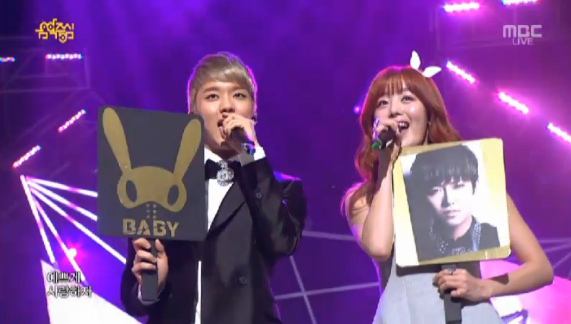 "Secret's Sunhwa and B.A.P's Young Jae Perform ""Everything Is Pretty"" on Music Core"