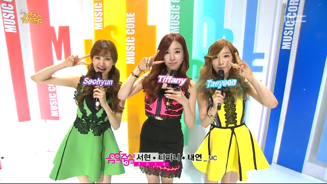 MBC Music Core 01.05.13