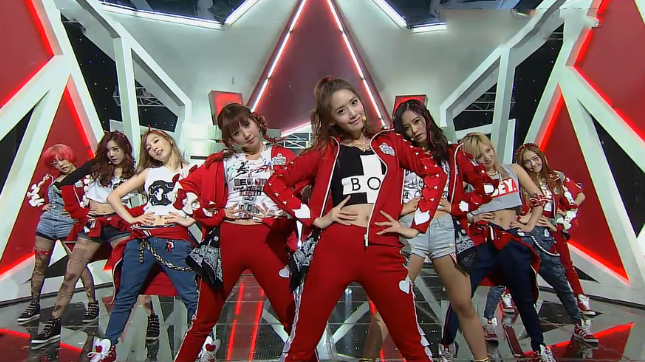 Girls' Generation Makes Their Inkgiayo Comeback Performance