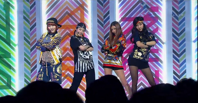 """GLAM Performs """"I Like That"""" for Inkigayo Comeback"""