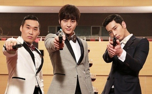 "Joo Won, 2PM's Hwang Chan Sung & Son Jin Young Pose in New Still for ""7th Level Civil Servant"""