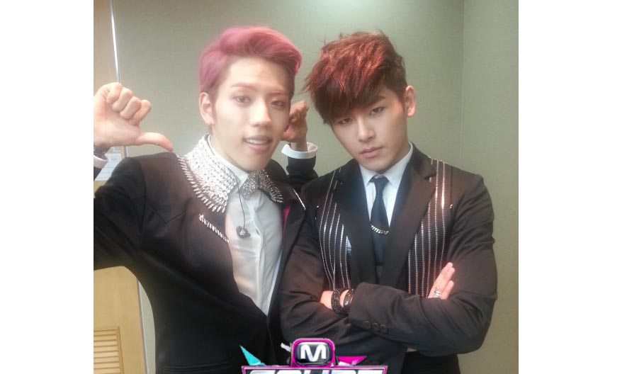 Infinite H Makes Their First Performances on M!Countdown