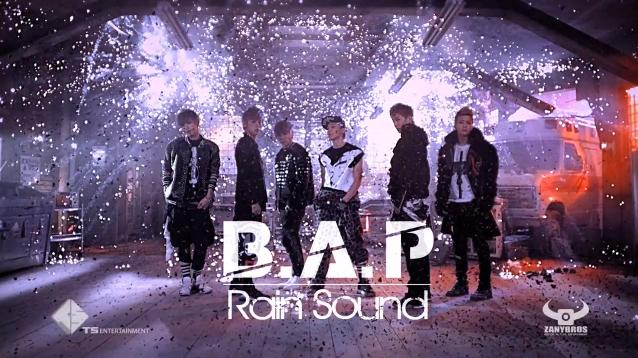 """B.A.P Releases MV for """"Rain Sound"""""""