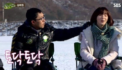 """Kim Jae Dong Teases and Comforts Han Hye Jin About Her Break Up During """"Healing Camp"""""""