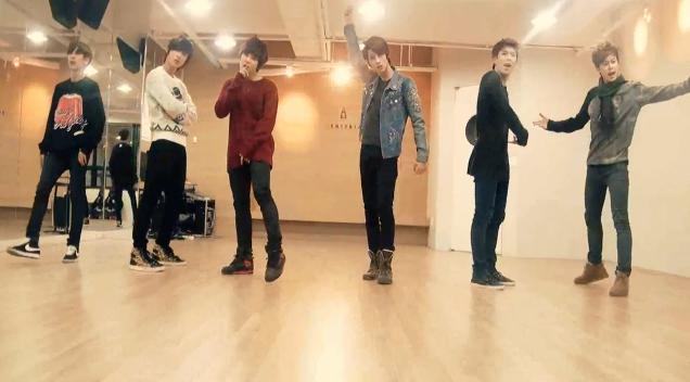 "Boyfriend Releases Dance Practice Video for ""I Yah"""