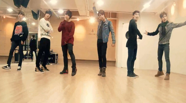 "Boyfriend Releases Dance Practice Video for ""I Yah"""