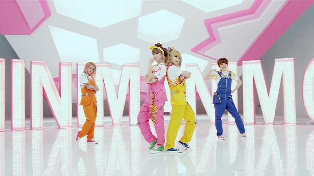"Rookie Girl Group TINY-G Releases Comeback MV ""MINIMANIMO"""