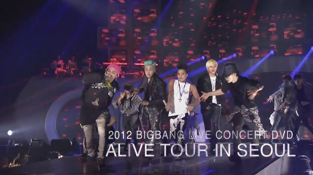 "Big Bang Reveals Promotional Video for ""Alive Tour in Seoul"" Live Concert DVD"