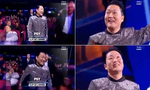 PSY Wins 3 Different Awards at the NRJ Music Awards in France