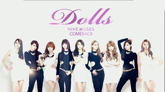 Nine Muses Makes Their Comeback Performances on Inkigayo