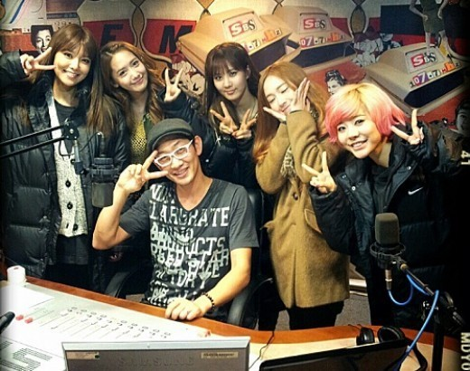 Girls' Generation Visits Kim Chang Ryul's Radio Program